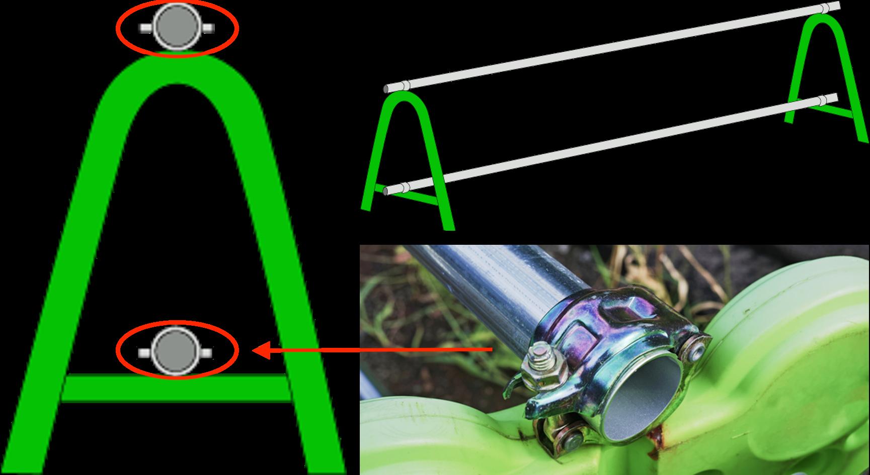 単管パイプで三密回避?!単管バリケードの活用方法について。(^_^)v